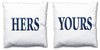 Word Cushions - set of Two - Love Maps On... - 28
