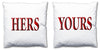 Word Cushions - set of Two - Love Maps On... - 62