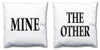 Word Cushions - set of Two - Love Maps On... - 12