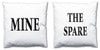 Word Cushions - set of Two - Love Maps On... - 13