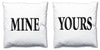 Word Cushions - set of Two - Love Maps On... - 14