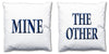 Word Cushions - set of Two - Love Maps On... - 29