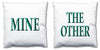 Word Cushions - set of Two - Love Maps On... - 44