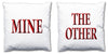 Word Cushions - set of Two - Love Maps On... - 63
