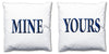 Word Cushions - set of Two - Love Maps On... - 31