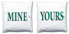 Word Cushions - set of Two - Love Maps On... - 46