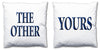 Word Cushions - set of Two - Love Maps On... - 33