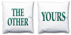 Word Cushions - set of Two - Love Maps On... - 48