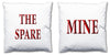 Word Cushions - set of Two - Love Maps On... - 64