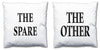 Word Cushions - set of Two - Love Maps On... - 15