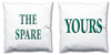 Word Cushions - set of Two - Love Maps On... - 49
