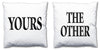 Word Cushions - set of Two - Love Maps On... - 17