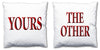 Word Cushions - set of Two - Love Maps On... - 67