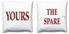 Word Cushions - set of Two - Love Maps On... - 68