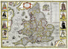 Map Wallpaper - Vintage County Map - England and Wales - Love Maps On... - 5
