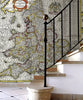Map Wallpaper - Vintage County Map - England and Wales - Love Maps On... - 3