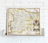 Map Canvas - Vintage County Map - Essex - Love Maps On... - 2
