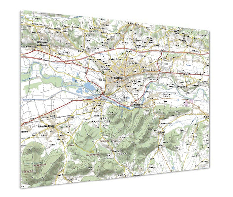 Map Poster - France 1:50,000 - postcode centred