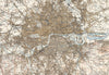 Map Wallpaper  - Vintage Ordnance Survey London - Revised New Series 1897-1898 - Love Maps On... - 3
