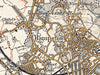 Map Wallpaper  - Vintage Ordnance Survey London - Revised New Series 1897-1898 - Love Maps On...