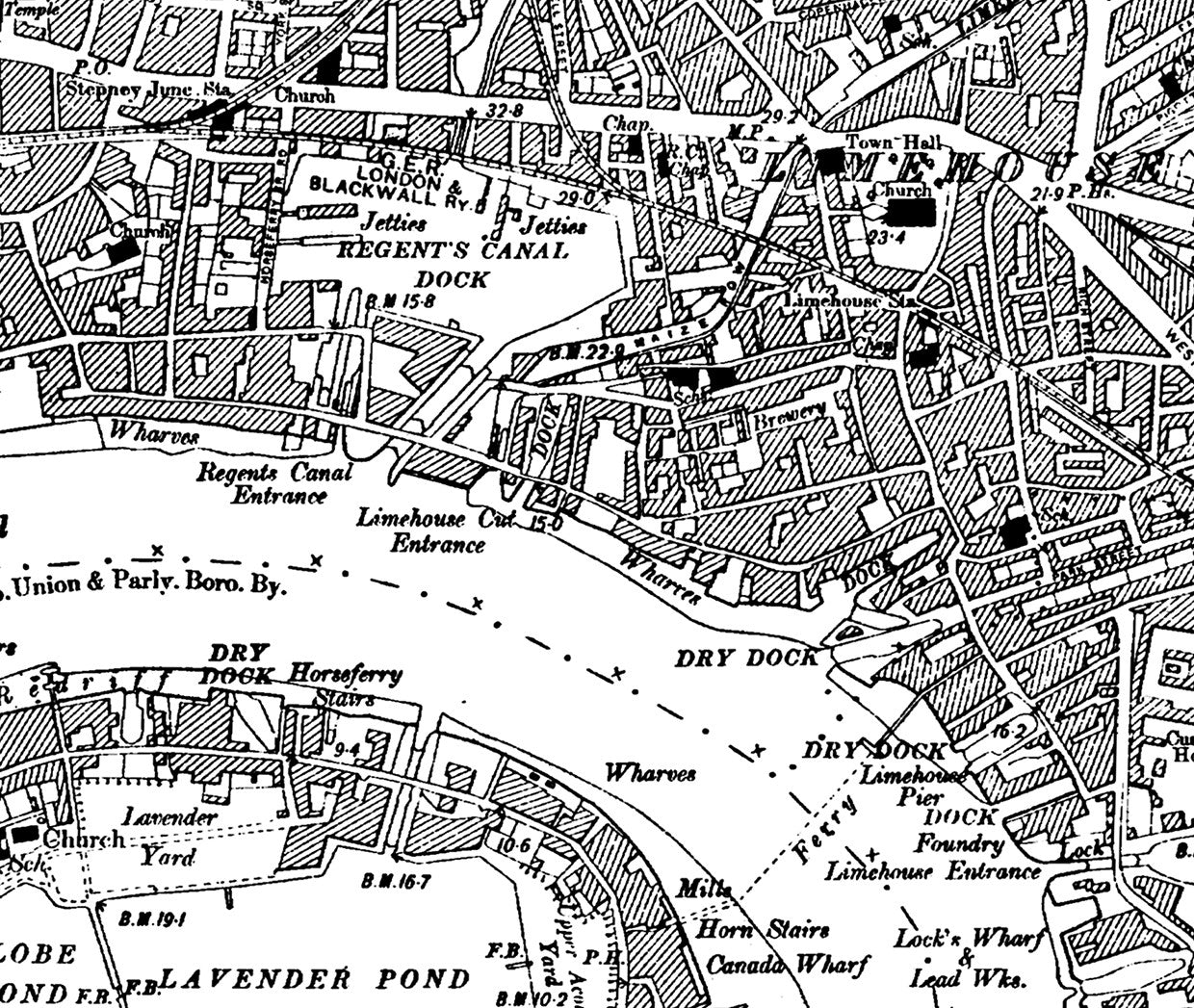 Map Wallpaper Vintage Ordnance Survey London Victorian Street Map From Love Maps On