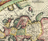 Map Wallpaper - Hondius World Map - Love Maps On... - 2