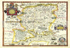 Map Canvas - Vintage County Map - Hampshire - Love Maps On... - 4
