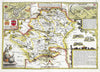 Map Wallpaper - Vintage County Map - Hertfordshire - Love Maps On... - 5