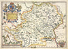Map Wallpaper - Vintage County Map - Hertfordshire - Love Maps On... - 6
