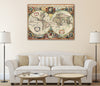 Map Canvas - Hondius World Map - Love Maps On...