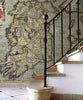 Map Wallpaper - Vintage County Map - Ireland - Love Maps On... - 2