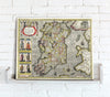 Map Canvas - Vintage County Map - Ireland - Love Maps On...