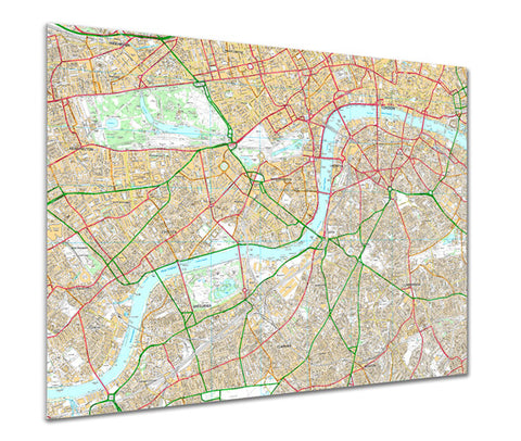 Map Poster - Custom Ordnance Survey High Detail Streetmap