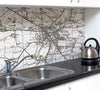 Ceramic Map Tiles - Personalised Vintage Ordnance Survey 1920's (Popular Series) - Love Maps On... - 1