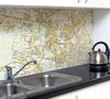 Ceramic Map Tiles - Personalised Ordnance Survey Street Map - Love Maps On... - 1