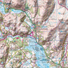 Lake District National Park - Map Poster