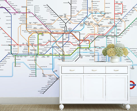 Map Wallpaper - London Underground Map