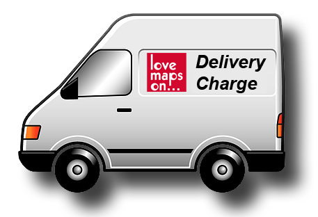 Extra Delivery Charge - Love Maps On...