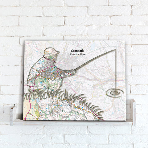 Personalised Fishing Map