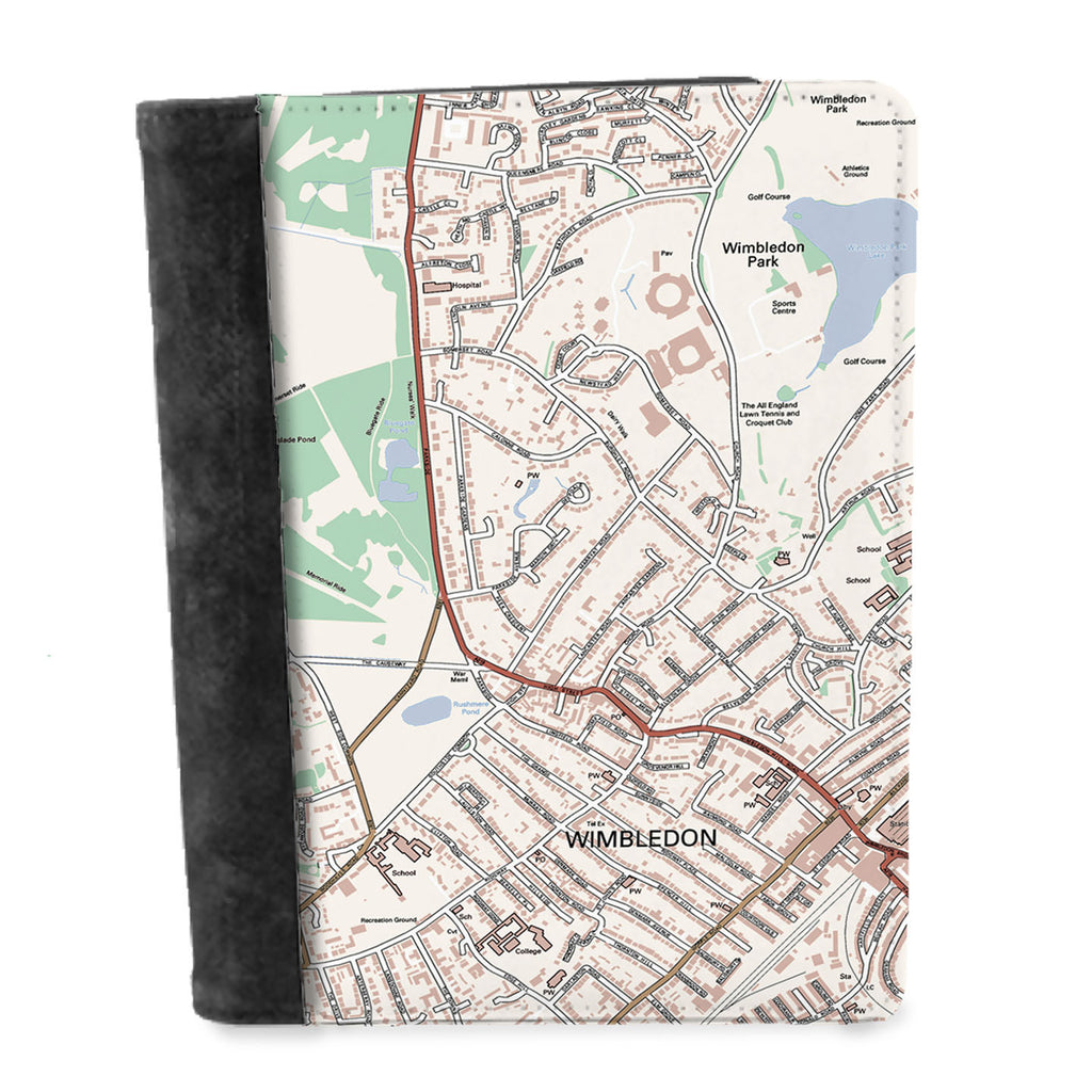 Personalised Map Notepad - Ordnance Survey Street Map Classic (1:10,000) - Love Maps On... - 1