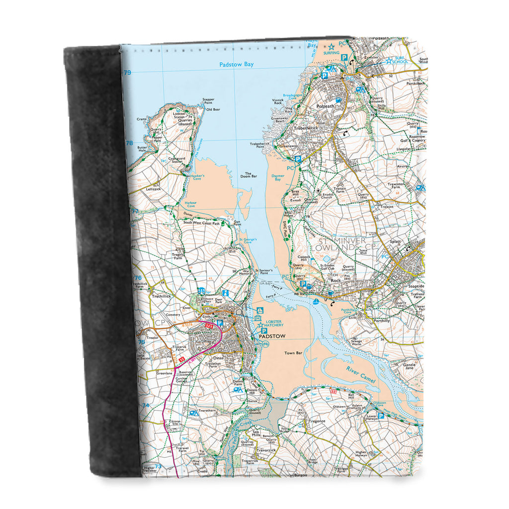Personalised Map Notepad - Ordnance Survey Explorer (1:25,000) - Love Maps On... - 1