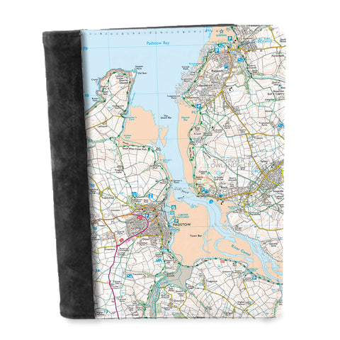 Personalised Map Notepad - Ordnance Survey Explorer (1:25,000)