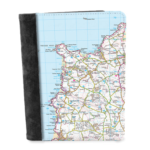 Personalised Map Notepad - Ordnance Survey Landranger (1:50,000)