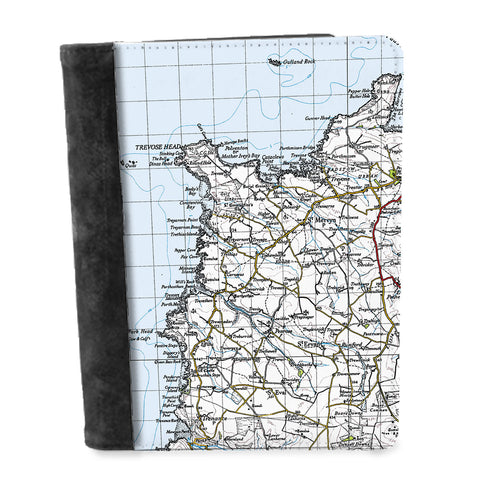 Personalised Vintage Map Notepad - 1940's (New Popular Series)