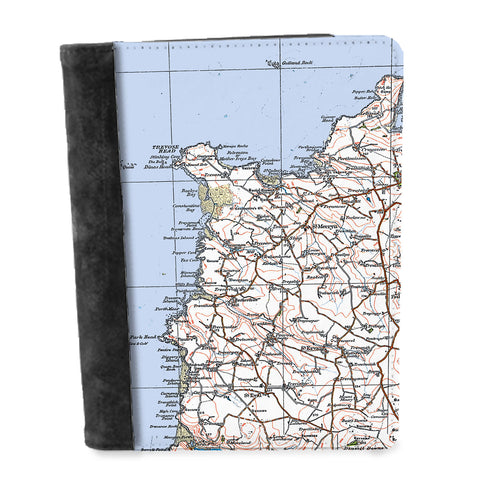 Personalised Vintage Map Notepad - 1920's (Popular Series)