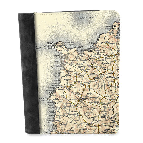 Personalised Vintage Map Notepad - 1896-1904 (Revised New Series)