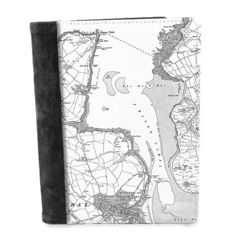 Personalised Vintage Map Notepad - Victorian Street Map