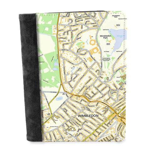 Personalised Map Notepad - Ordnance Survey Street Map (1:10,000)