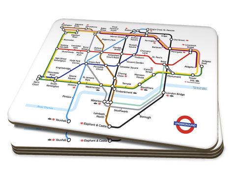 Map Placemats - London Underground Map