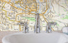 Ceramic Map Tiles - Personalised Ordnance Survey Street Map - Love Maps On... - 2